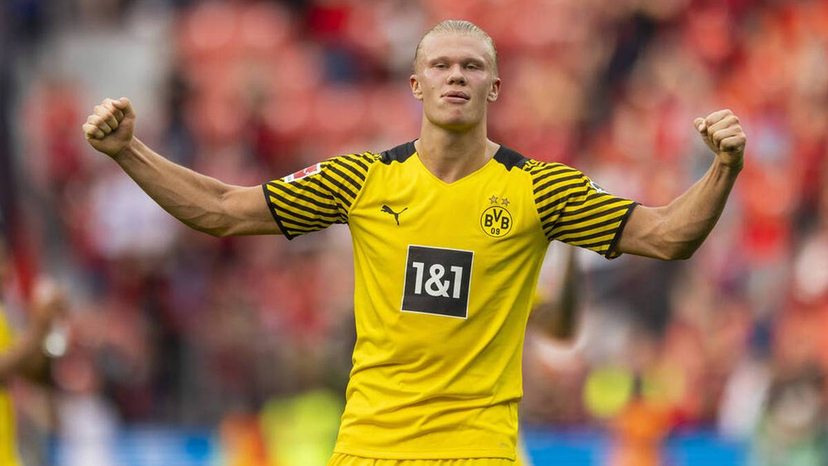 Erling Haaland dreht bei Borussia Dortmund richtig auf