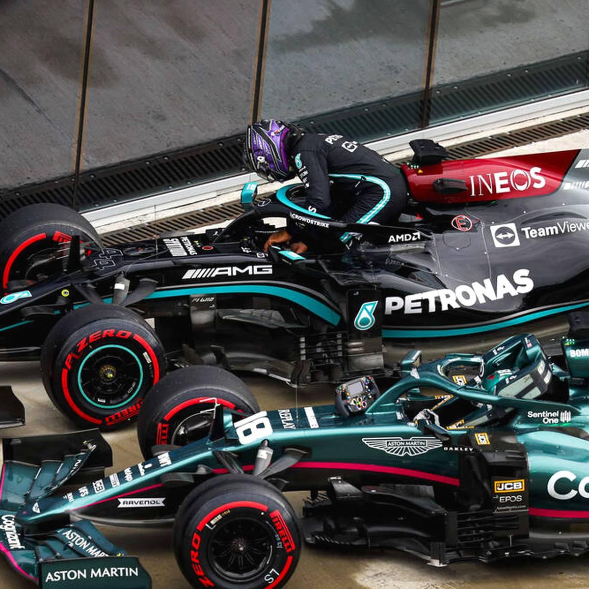 Mercedes-Debakel! Sensations-Pole nach Hamiltons Patzer