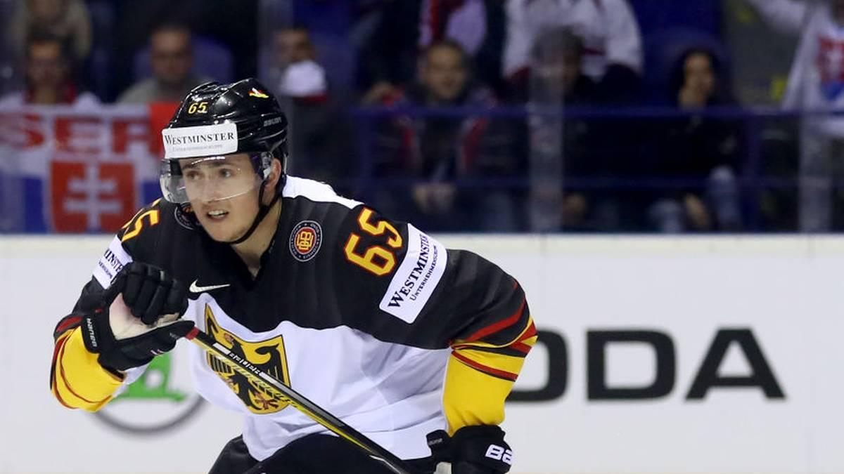 Deutscher Michaelis unterschreibt ersten NHL-Vertrag