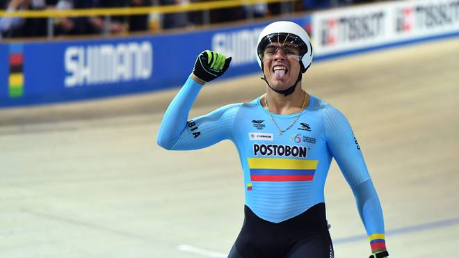 CYCLING-NED-UCI-WORLD-TRACK-MEN-KEIRIN