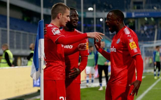 Holstein Kiel stellt das derzeit treffsicherste Team der 2. Bundesliga