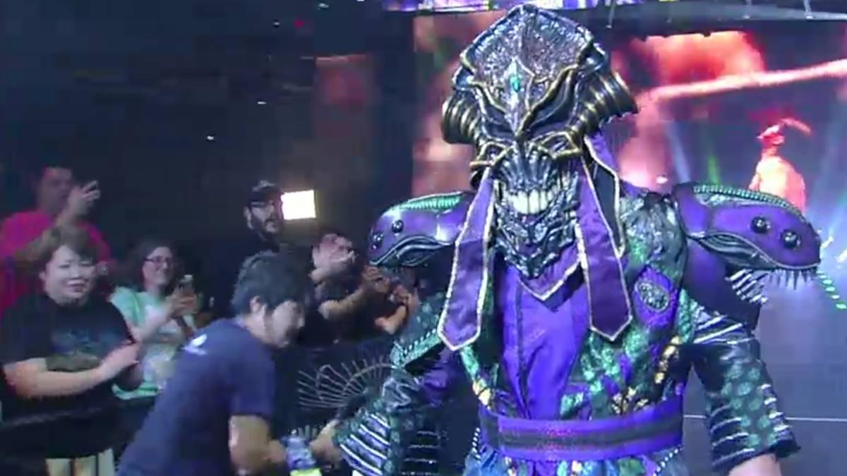 Der legendäre Great Muta ließ sich sein Wrestling-Debüt im Madison Square Garden nicht nehmen