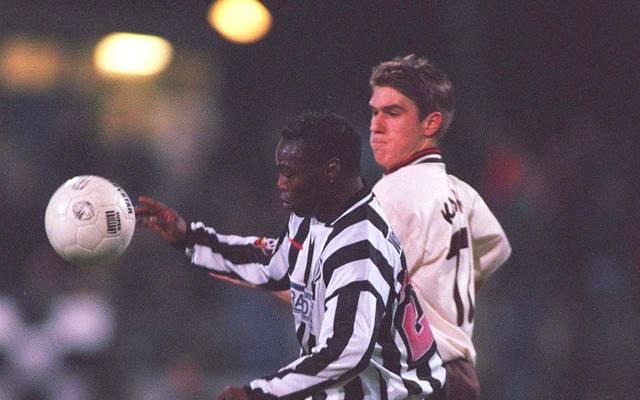 Souleymane Sané (l.) spielte von 1990 bis 1994 für die SG Wattenscheid 09