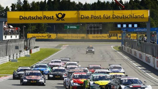 Die DTM-Autos bekommen zur Saison 2019 neue Motoren
