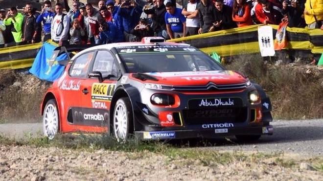 Kris Meeke feierte bei der Rallye Spanien einen ungefährdeten Sieg