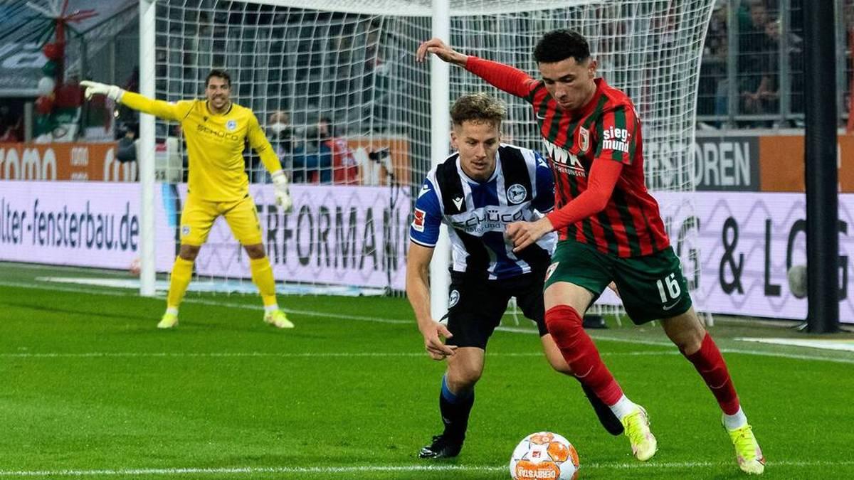 Augsburg verspielt Sieg im Kellerduell