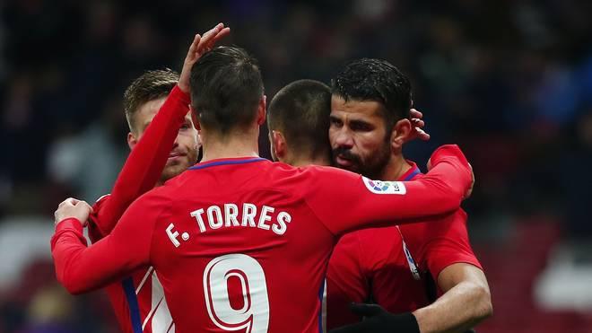 Atletico Madrid gewann auch das Achteflinal-Rückspiel in der Copa del Rey gegen Lleida deutlich