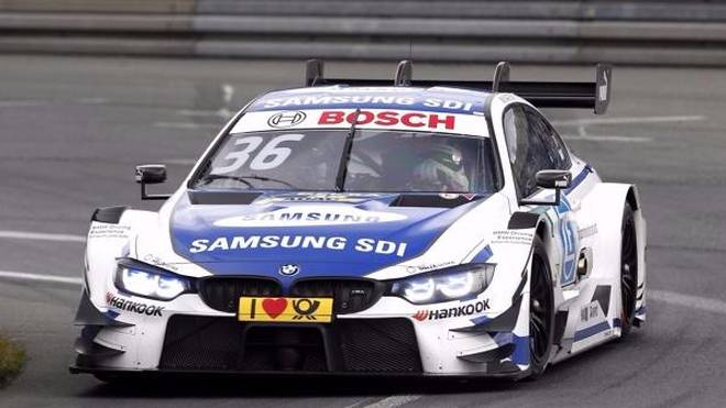 Jubel bei BMW: Sieg für Maxime Martin auf dem Norisring