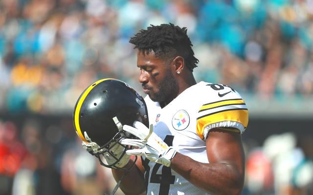 Antonio Brown spielte in der NFL bisher nur für die Pittsburgh Steelers