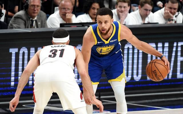Stephen Curry war erneut der überragende Mann im Team der Golden State Warriors