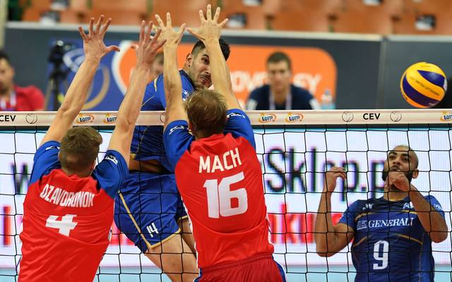 VOLLEYBALL-MENS-EURO-2017-FRA-CZE