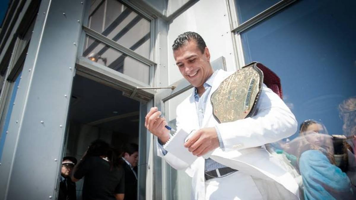 Alberto Del Rio drohte wegen schwerer Vorwürfe lebenslange Haft
