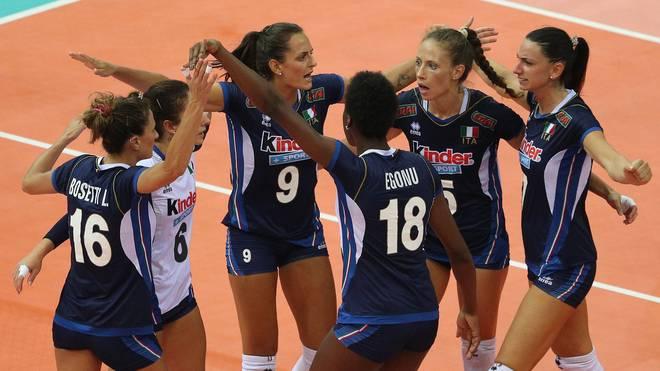Italien steht bereits im Viertelfinale der Volleyball-EM