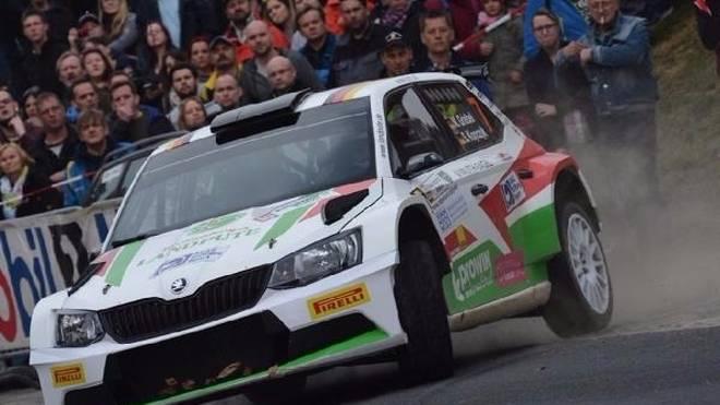 Marijan Griebel startet bei der Rallye Deutschland erstmals in der WRC2