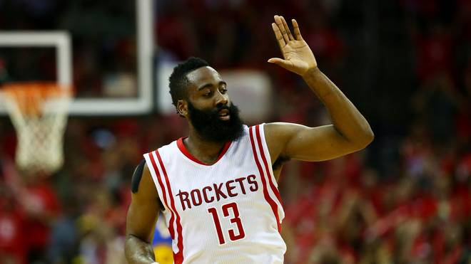 James Harden ist der Star der Houston Rockets