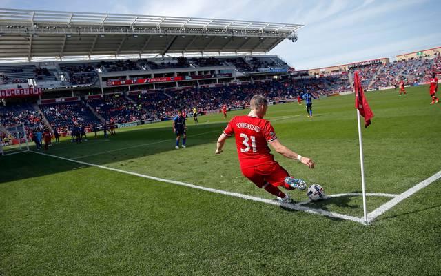 Bastian Schweinsteiger spielt mit Chicago Fire bislang im SeatGeek Stadium in Bridgeview