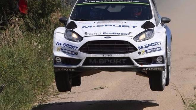 Ford-Pilot Ott Tänak zeigte bei der Rallye Polen seine beste Leistung