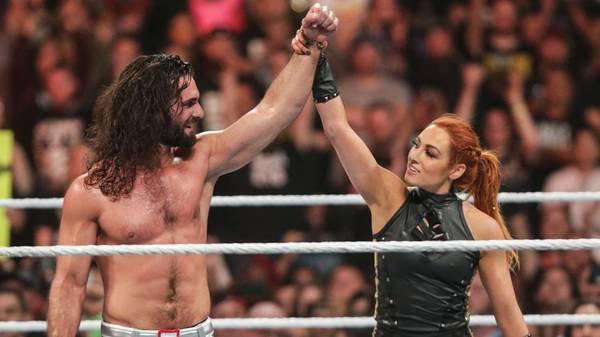 Diese WWE-Stars sind privat ein Paar: Seth Rollins und Becky Lynch