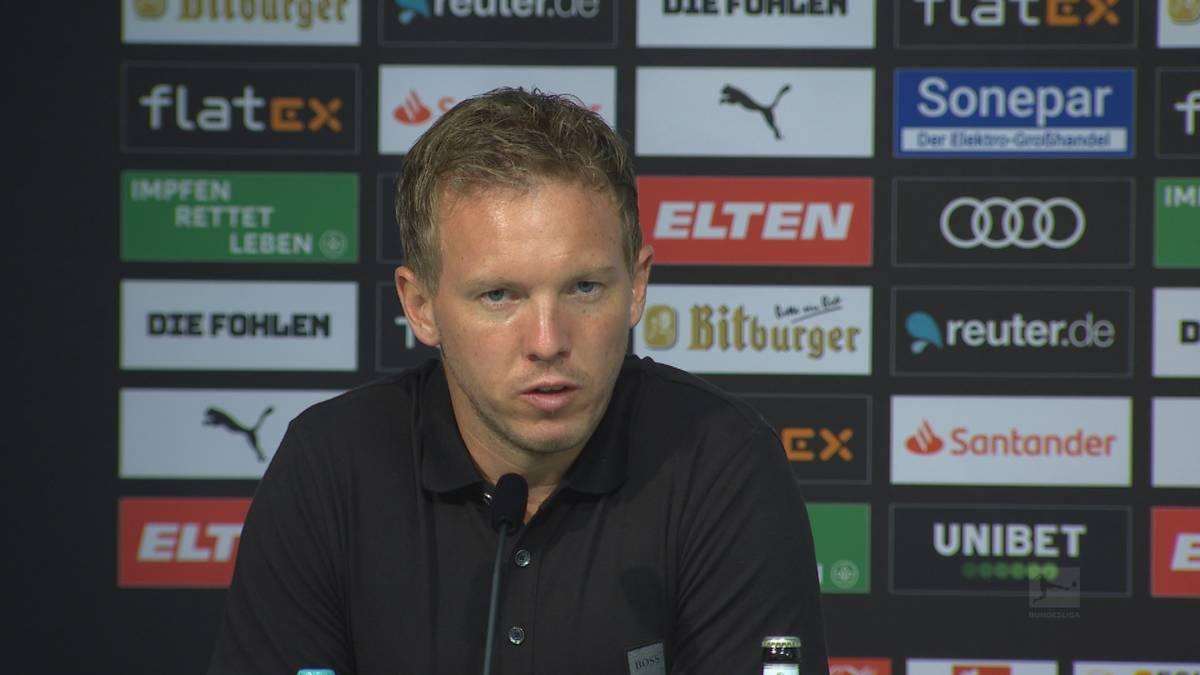 Nachwuchstalent Josip Stanisic durfte beim Auftaktspiel gegen Gladbach von Beginn ran und wusste zu überzeugen. Dafür gabs von Trainer Julian Nagelsmann ein Sonderlob.