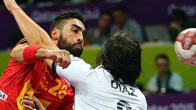 Spanien-Chile-Handball-WM