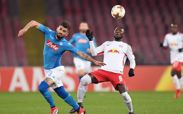 Naby Keita (r.) stand in der Vorwoche in Neapel in der Startelf