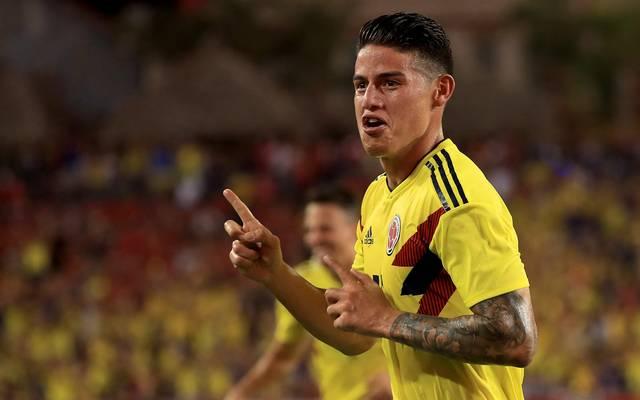 James erzielte die 1:0-Führung für Kolumbien gegen die USA