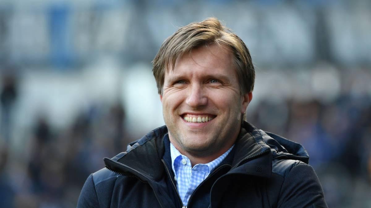 Markus Krösche ist Sportdirektor von RB Leipzig