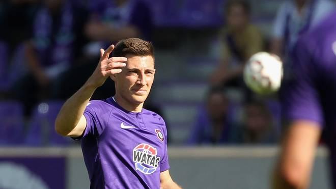 Mario Kvesic erzielte Aues Siegtreffer