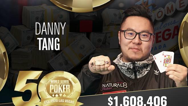 Danny Tang gewann erstmals ein WSOP-Event
