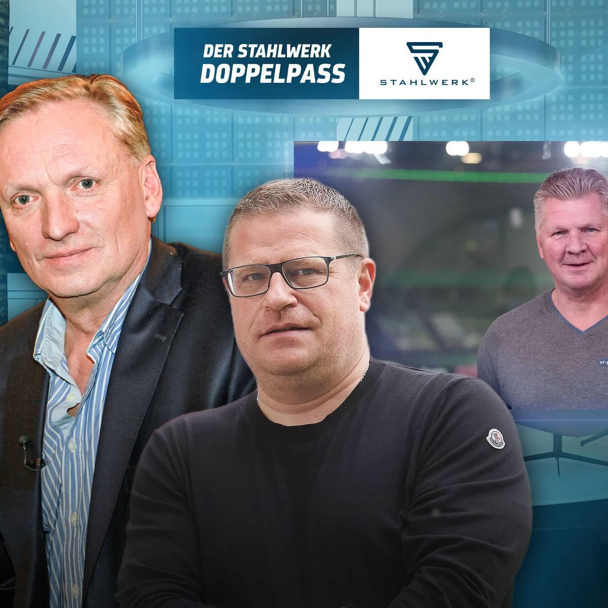 Sendung verpasst? Der STAHLWERK Doppelpass mit Max Eberl vom 03.10.