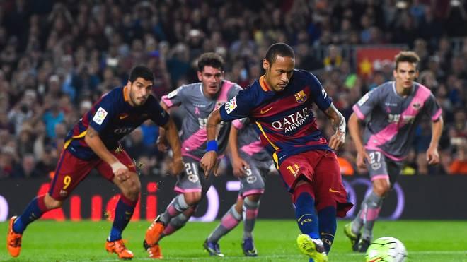 FC Barcelona v Rayo Vallecano - Neymar