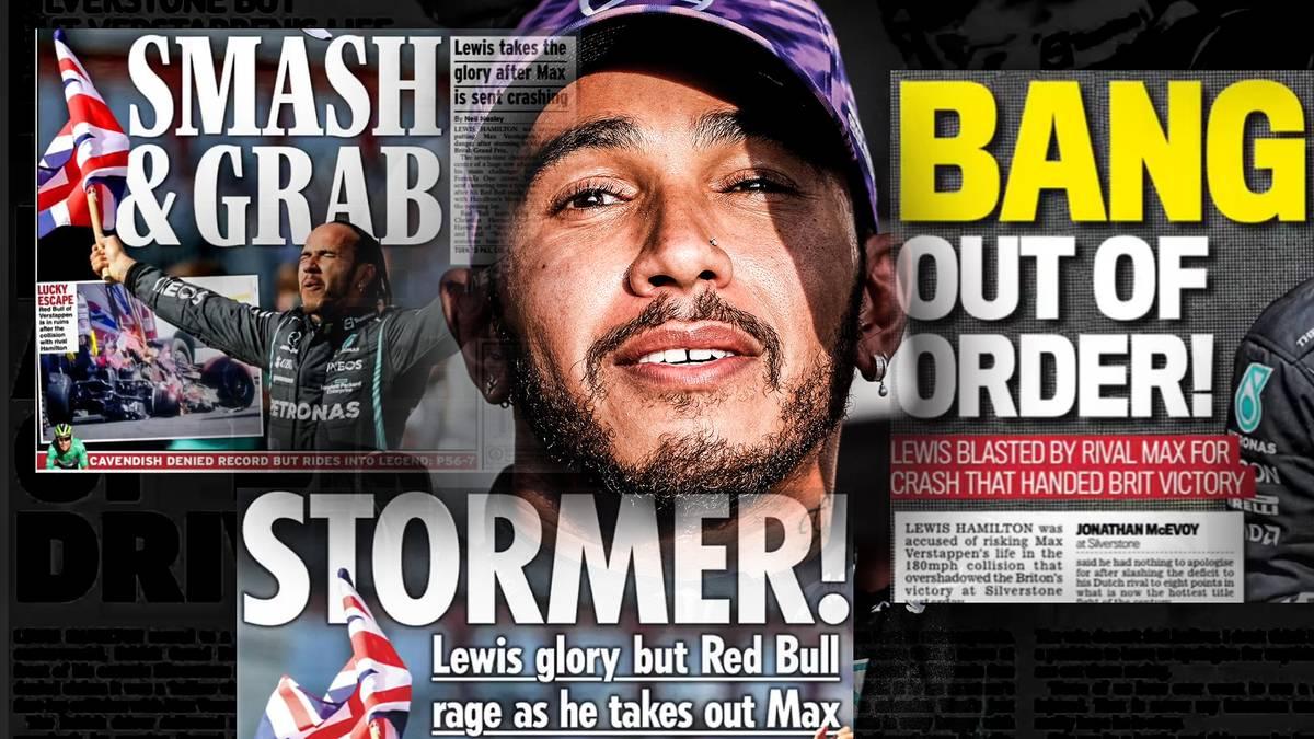 Nach dem Sieg von Lewis Hamilton in Silverstone wurde er für sein Überholmanöver gegen Verstappen kritisiert