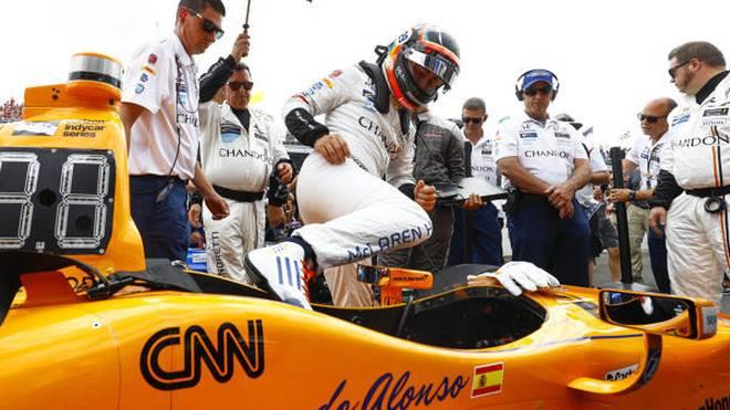 Fernando Alonso tritt am 26. Mai zum zweiten Mal beim Indy 500 an