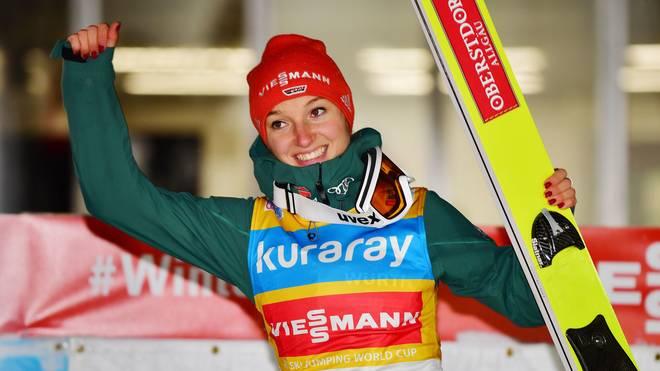 Katharina Althaus befindet sich in überragender Verfassung