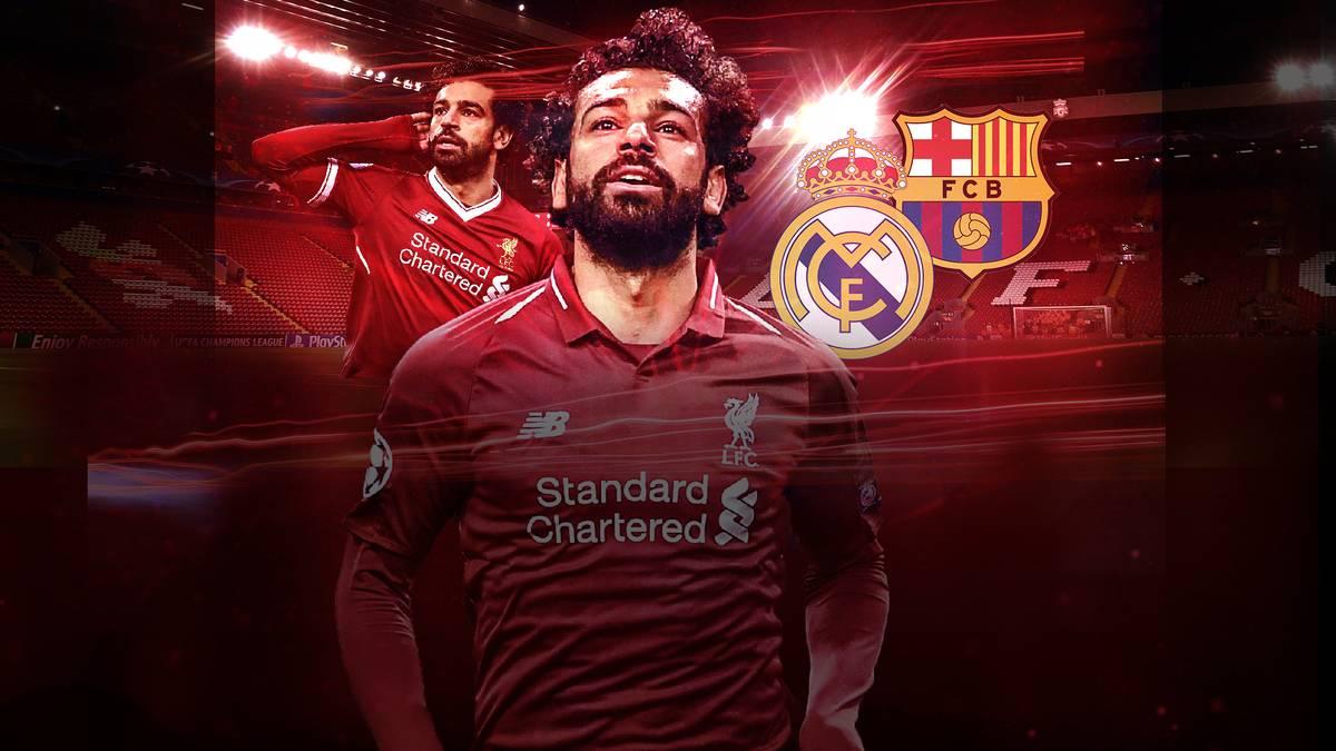 Zuletzt hielten sich Spekulationen um einen möglichen Abgang von Mohamed Salah vom FC Liverpool. Nun befeuert er diese Wechsel-Gerüchte.