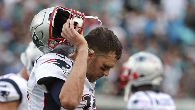 Tom Brady war nach Ende der Partie bedient