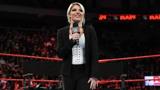 Alexa Bliss spielt derzeit nur eine passive Rolle bei WWE