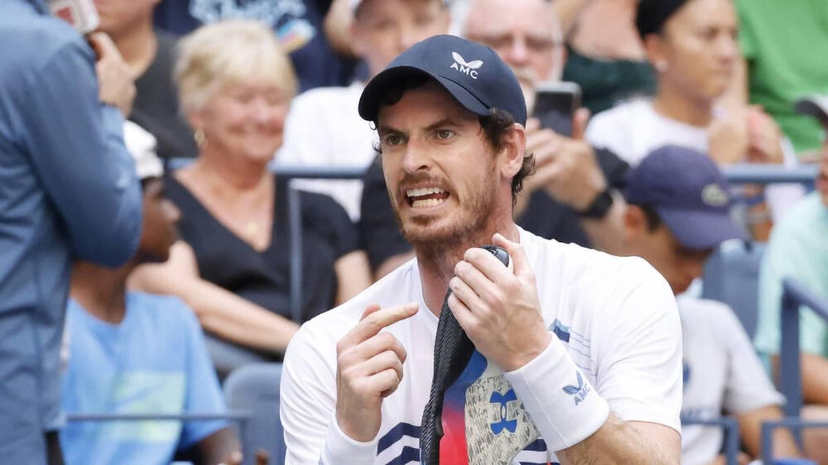 Andy Murray schied bei den US Open gegen Stefanos Tsitsipas aus