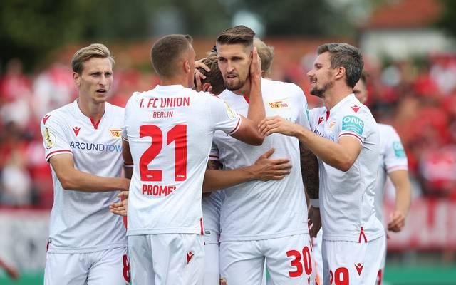 Union Berlin hat sich in der ersten Runde des DFB-Pokals gegen Regionalligist Halberstadt durchgesetzt