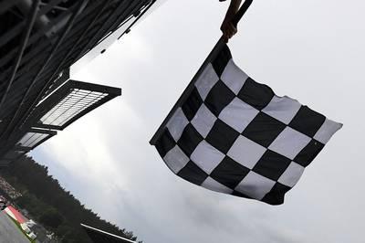 Im österreichischen Spielberg feiert ein Neuseeländer im Red Bull den Sieg.