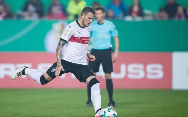 Daniel Ginczek steht zum zweiten Mal in dieser Saison in der Bundesliga in der Startelf
