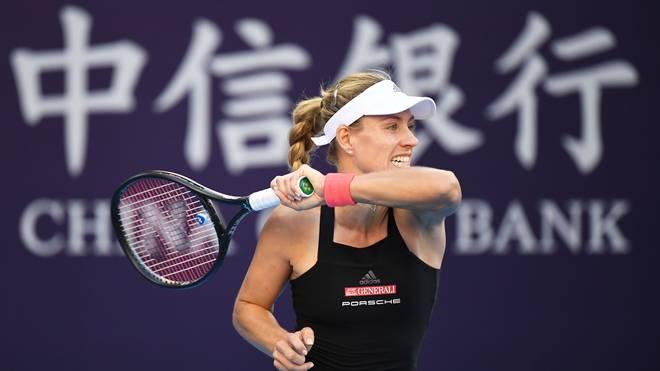 Tennis, WTA-Finale in Singapur: Auslosung mit Angelique Kerber, Angelique Kerber spielt beim Saisonfinale in Singapur in der Roten Gruppe