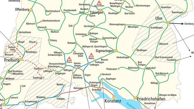 Kostenfreie Radmitnahme im Zug in fast ganz Baden-Württemberg