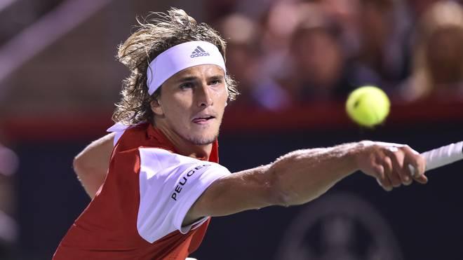 Alexander Zverev ist beim ATP-Turnier in Montreal ausgeschieden