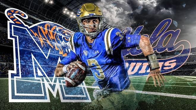 Josh Rosen UCLA Bruins Memphis Tigers College Football NCAA LIVE im Free-TV auf SPORT1