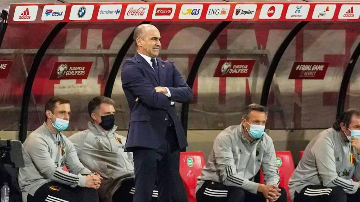 Roberto Martinez bleibt Trainer der Belgier