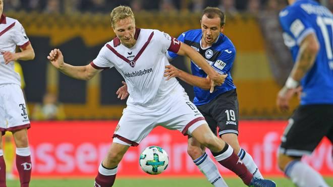 Marco Hartmann ist Kapitän des Zweitligisten Dynamo Dresden