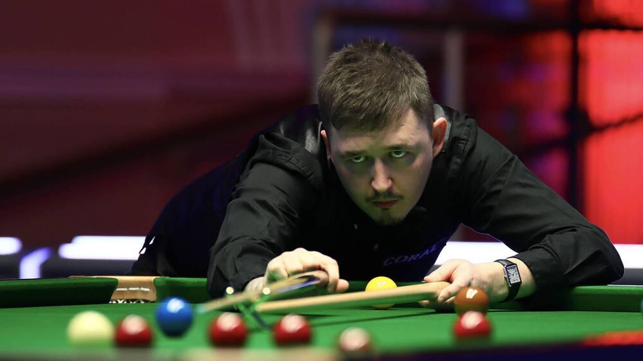 Kyren Wilson ist die Nr. 6 der Snooker-Weltrangliste