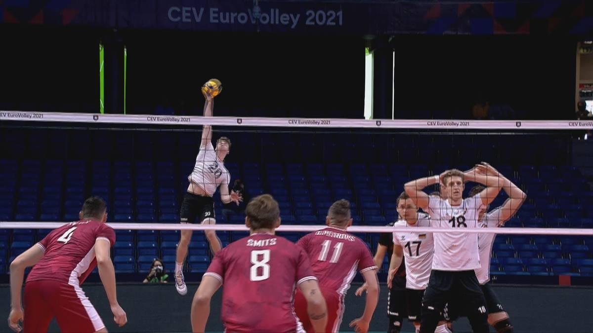 Gegen Außenseiter Lettland zeigte das Deutsche Team eine durchwachsene Leistung. Beim Arbeitssieg des Teams von Andrea Giani wusste jedoch ein Youngster zu überzeugen.