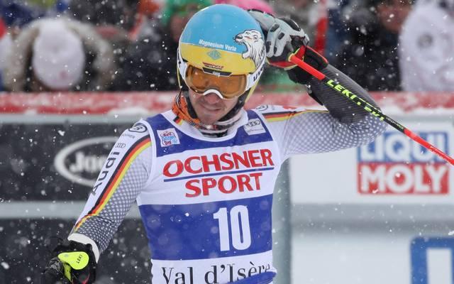 Beim Riesenslalom in Val d'Isere landete Felix Neureuther auf Rang 21